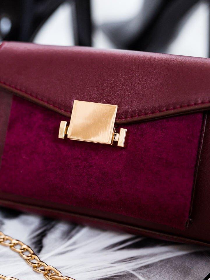 Bordová malá kabelka Gigi