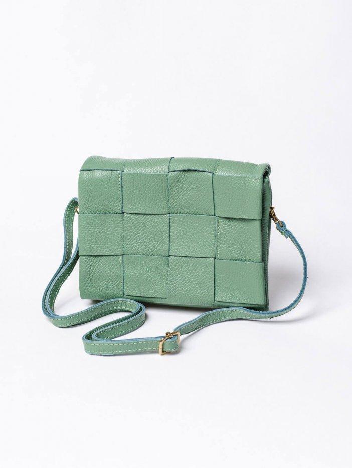 Zelená kabelka Maison
