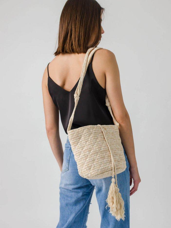 Béžová kabelka Zariah
