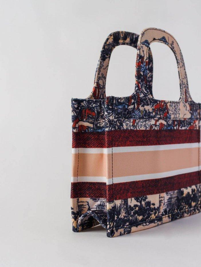 Farebná vzorovaná taška Gary