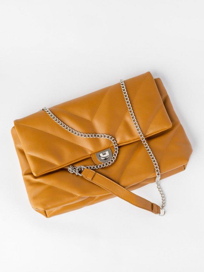 Hnedá kabelka Kristia