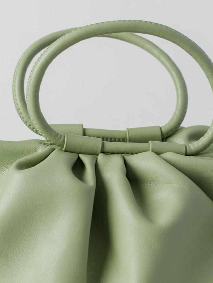 Zelená kabelka Jasmi