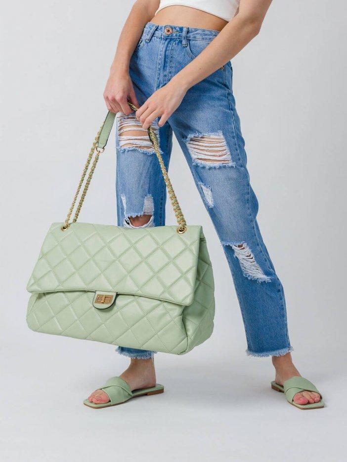 Zelená kabelka Lima