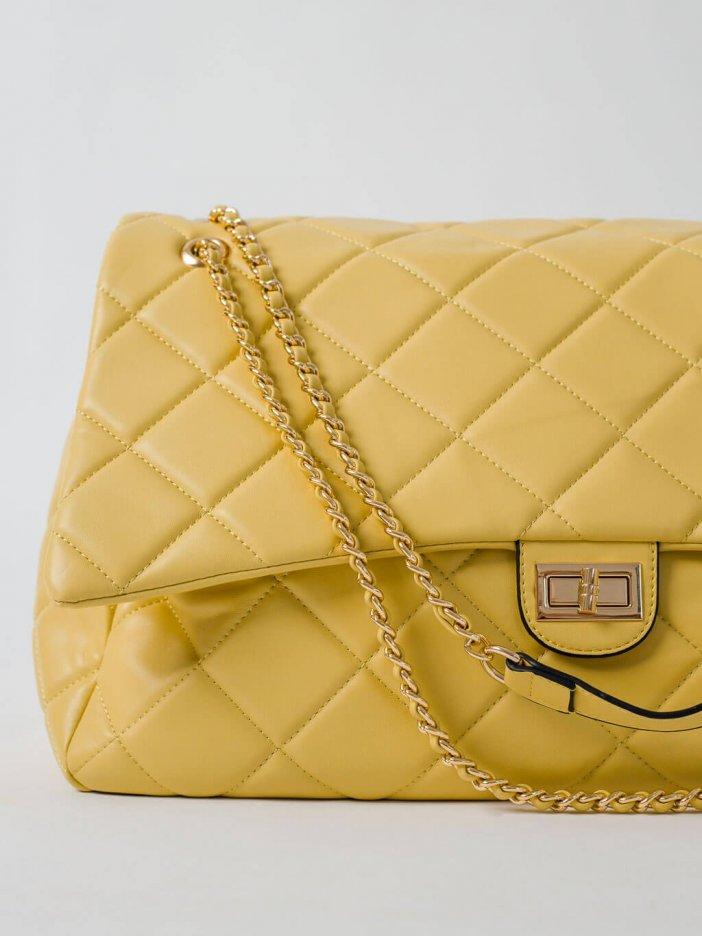 Žltá kabelka Lima