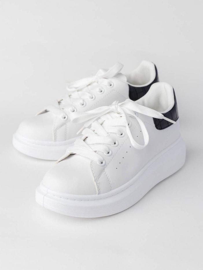 Bielo-čierne tenisky Jennie