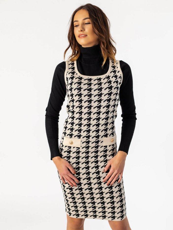 Vzorované šaty Sherley