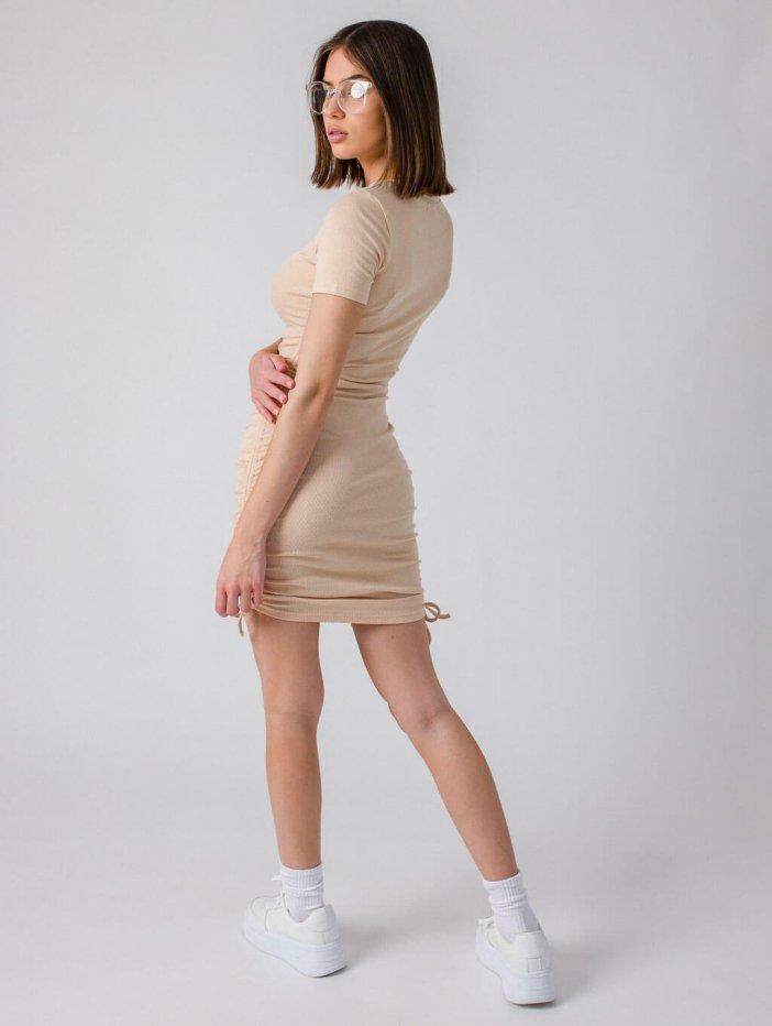 Béžové šaty Darcie