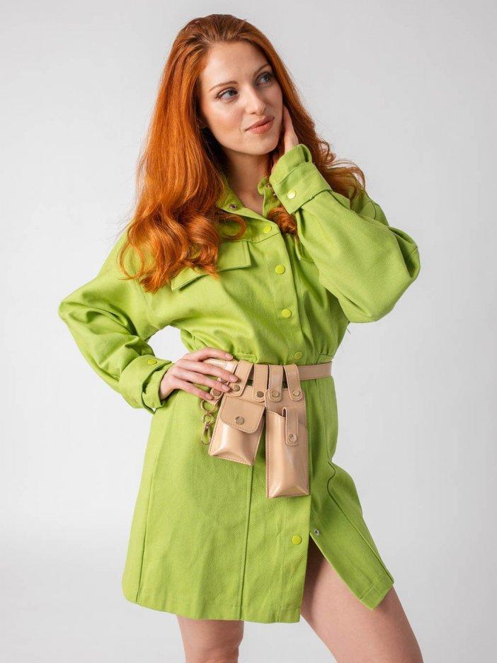 Zelené šaty Dorotha