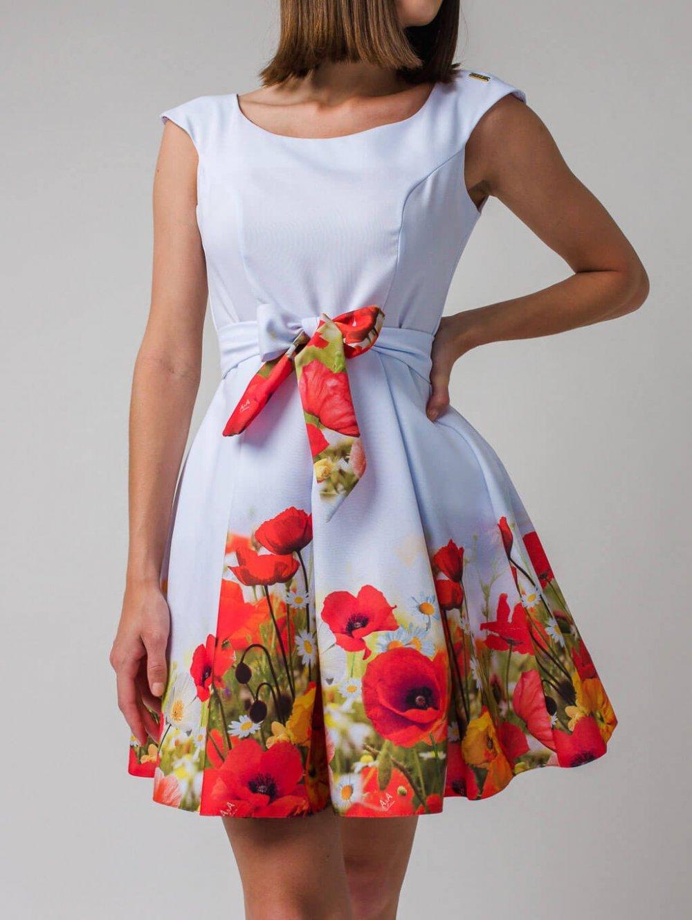 Kvetované šaty Poppy
