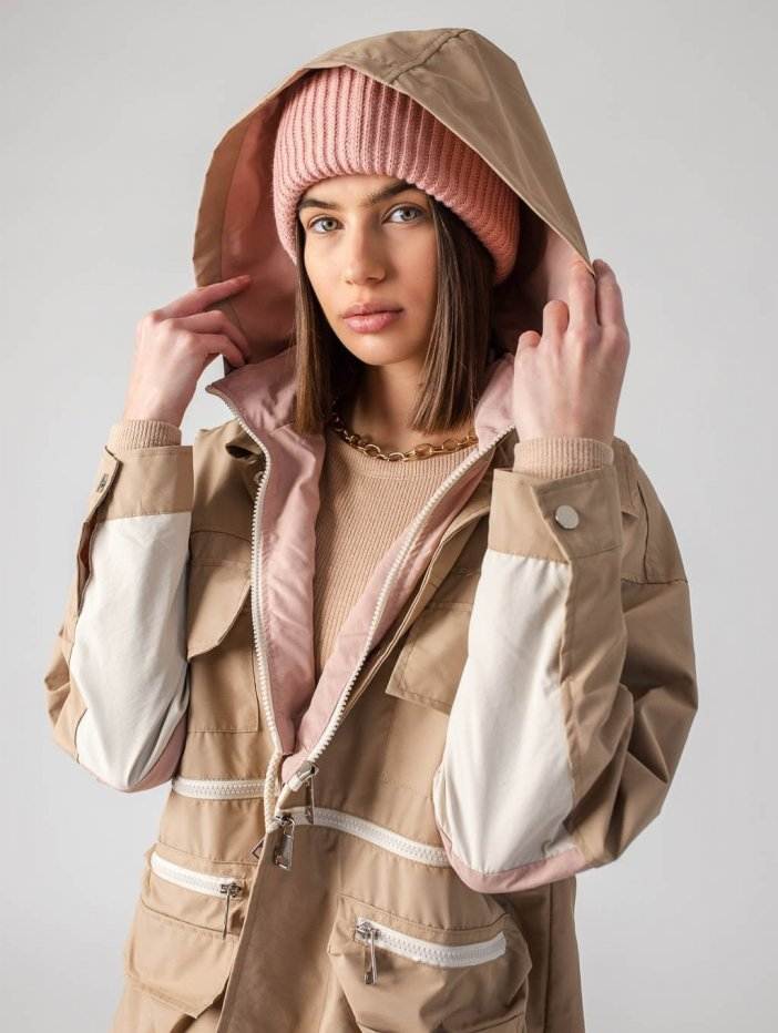 Béžová bunda Tion
