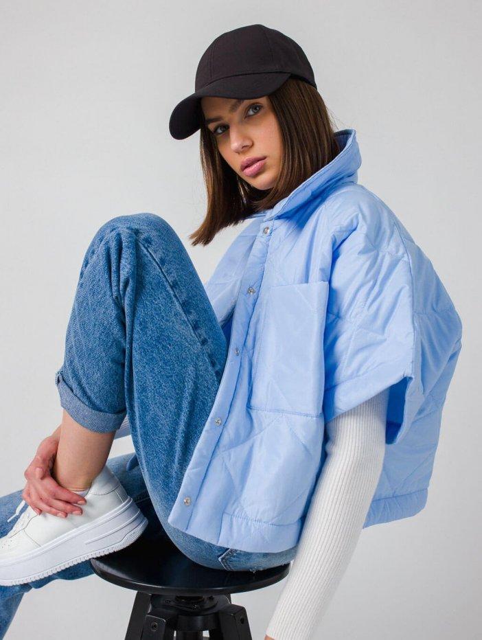 Modrá bunda Darina