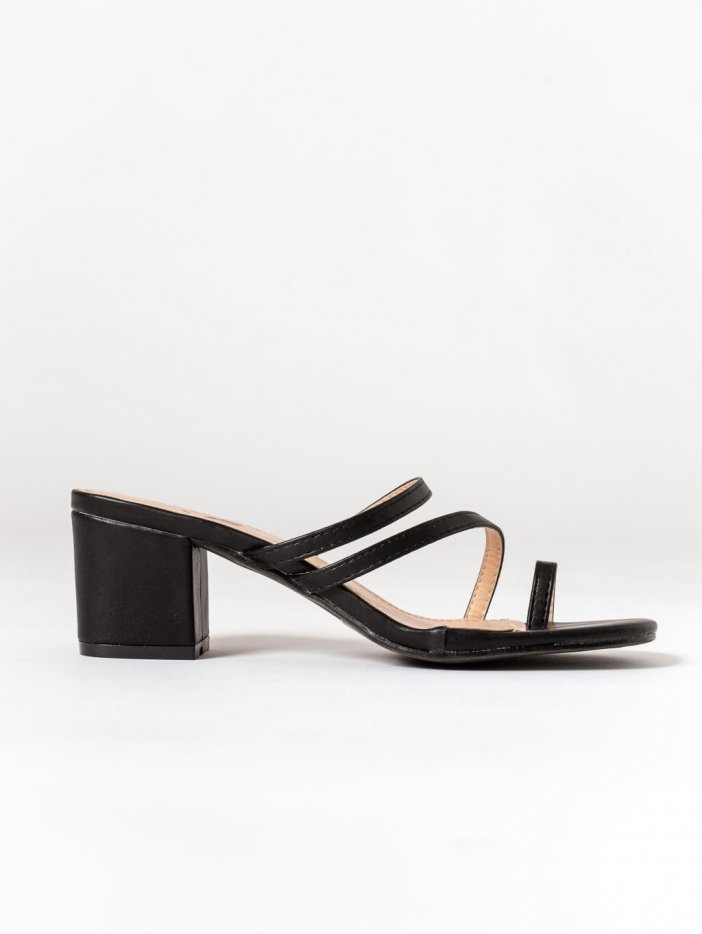 Čierne sandále Ginna