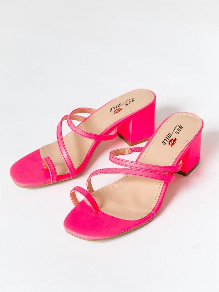 Ružové sandále Ginna