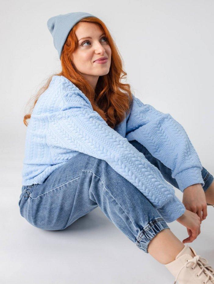 Modrá mikina Harper