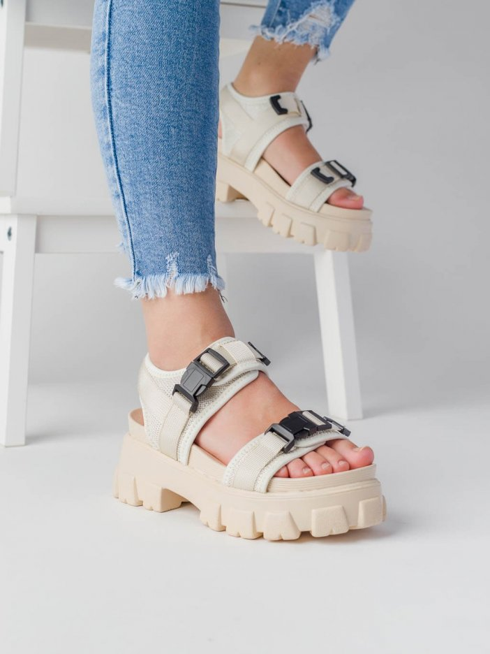 Béžové sandále Gorie