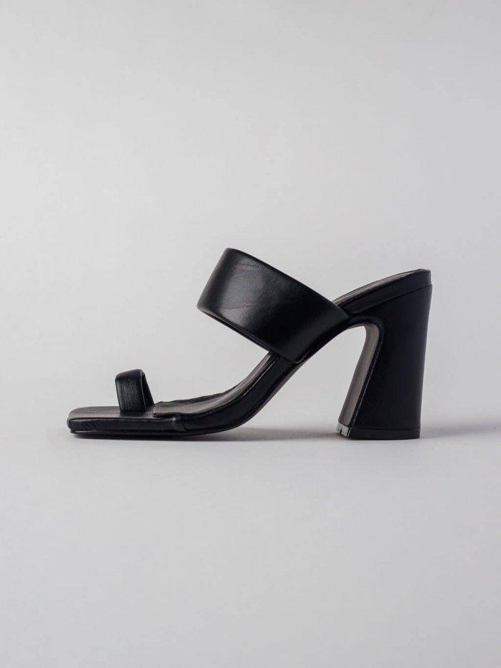 Čierne sandále Nancy