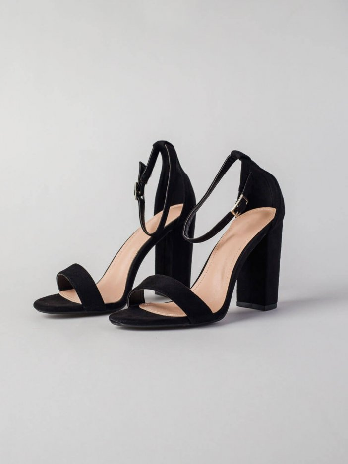 Čierne sandále Twinn