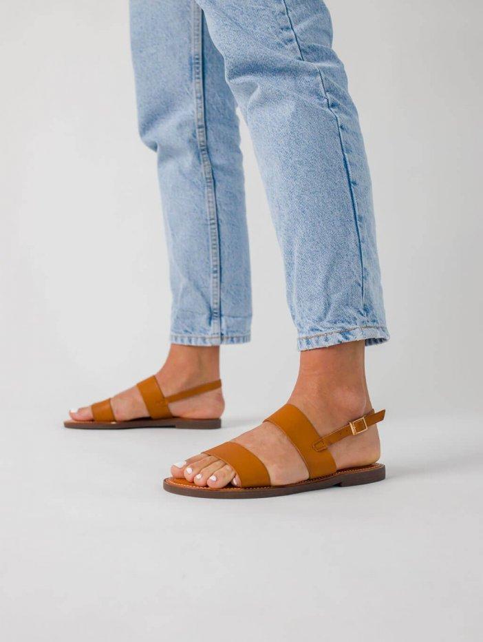 Hnedé sandále Migel
