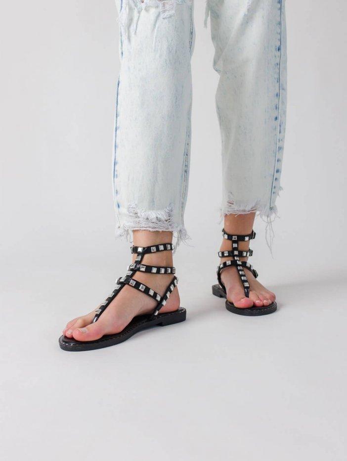 Čierne sandále Zien