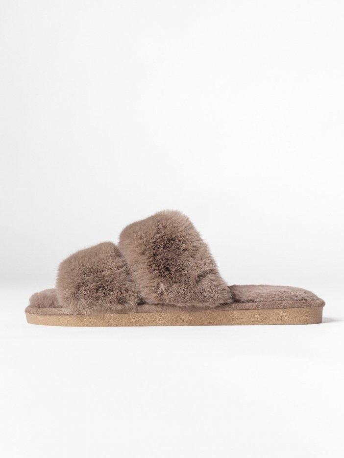 Hnedé papuče Annie