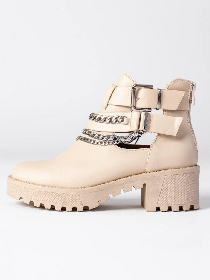 Béžové topánky Deziree