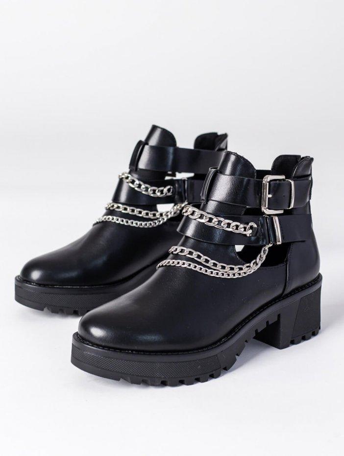 Čierne topánky Deziree