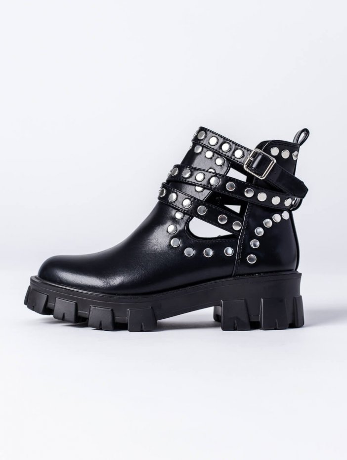 Čierne topánky Davina