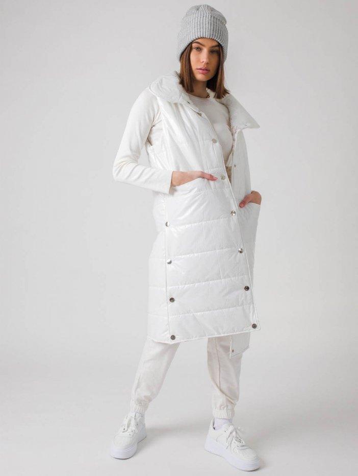 Biela vesta Frida