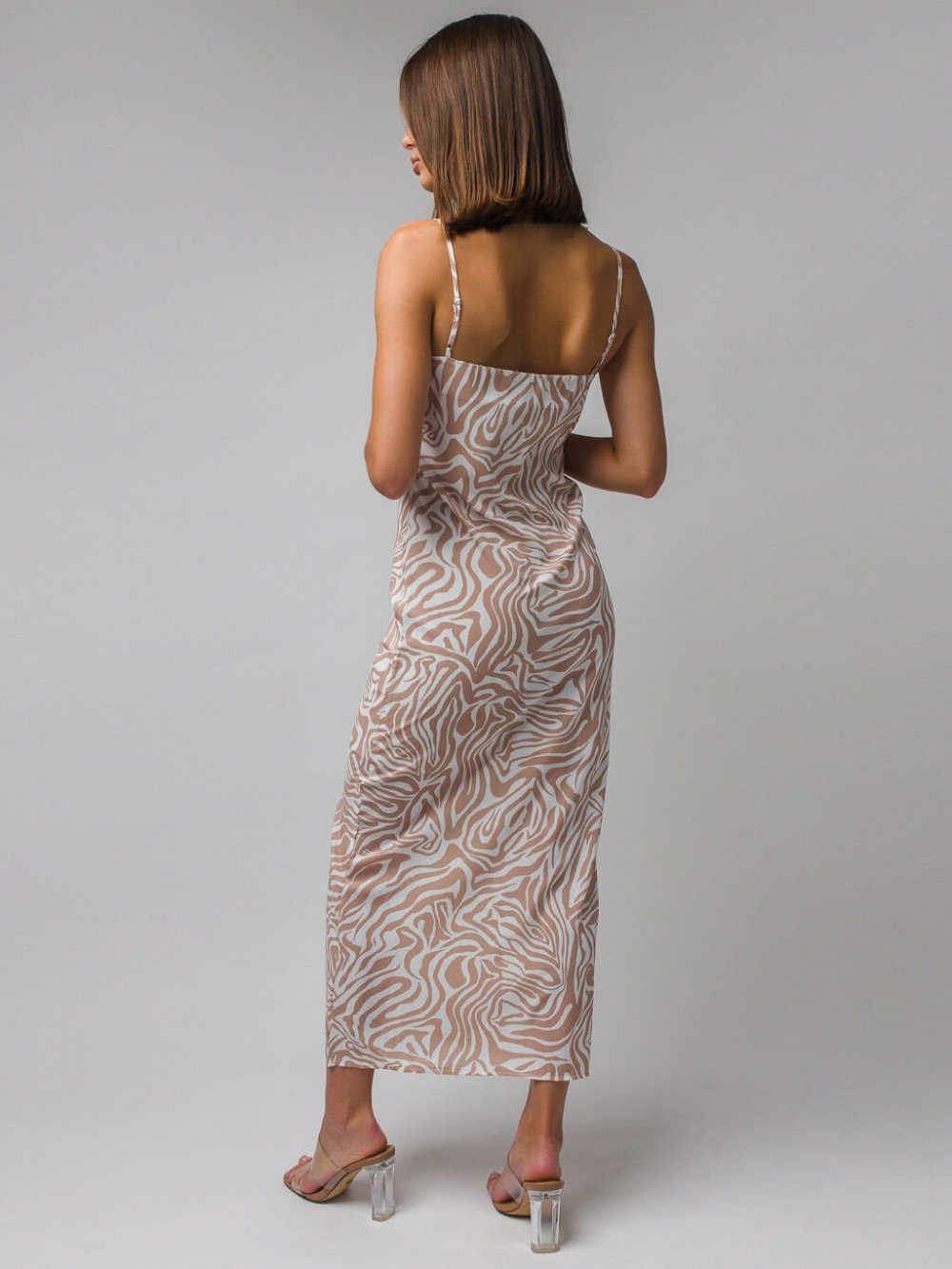 Béžové šaty Micaela