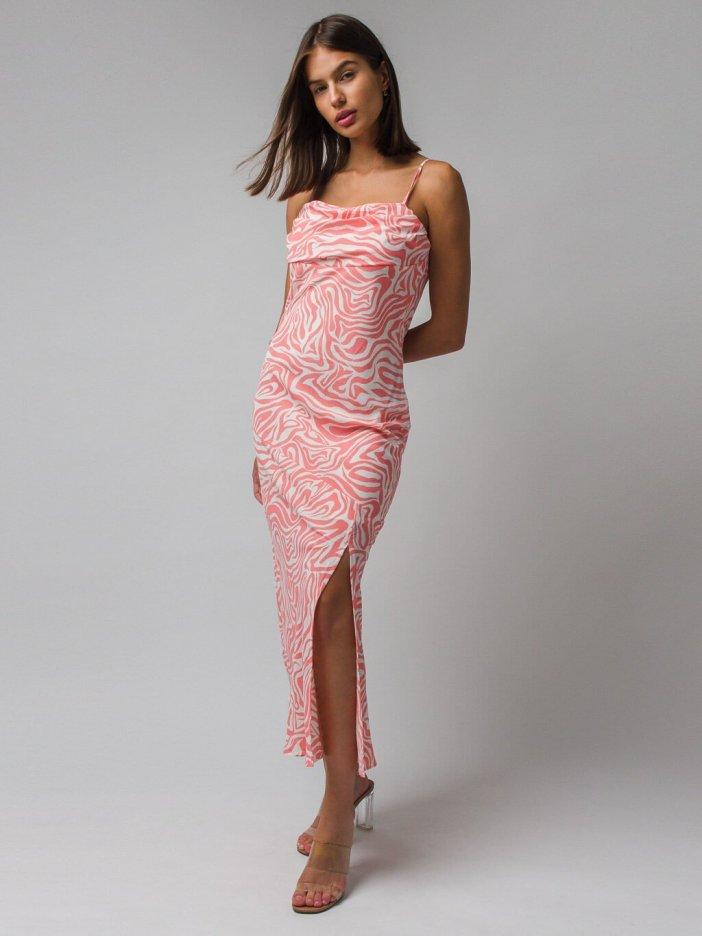 Ružové šaty Micaela