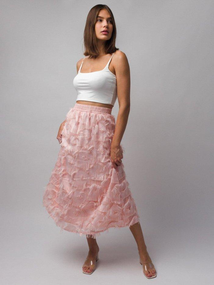 Ružová sukňa Birdy