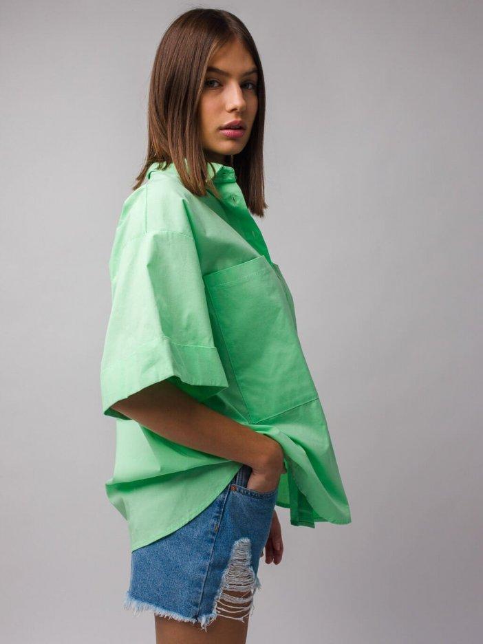 Zelená košeľa Lumi