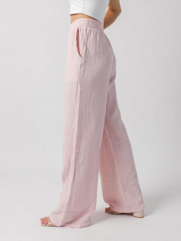Bledoružové nohavice Darla