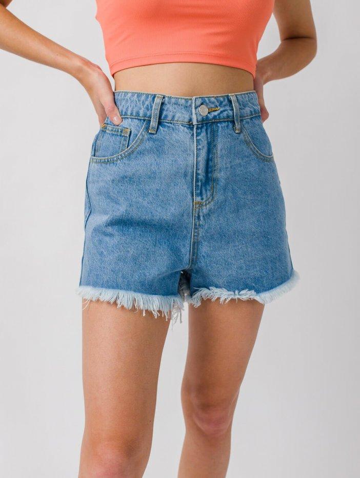 Rifľové šortky Selly