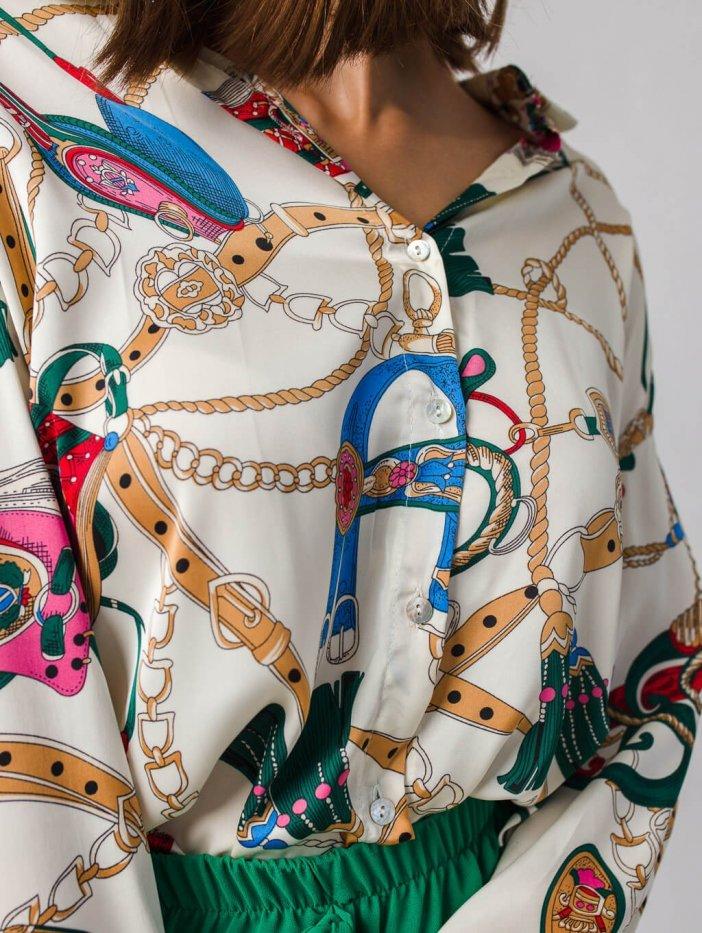 Vzorovaná košeľa Tilia