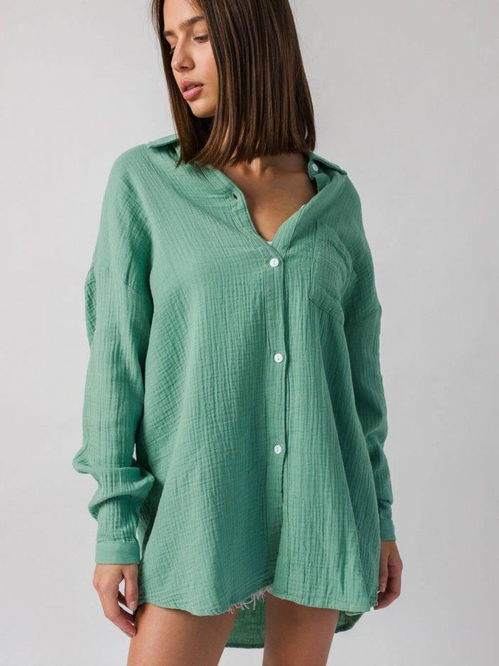 Zelená košeľa Darla
