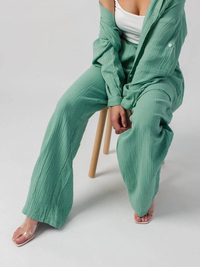 Zelené nohavice Darla