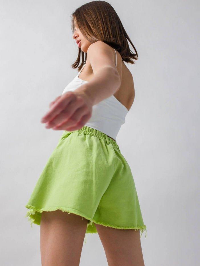 Zelené šortky Haryl
