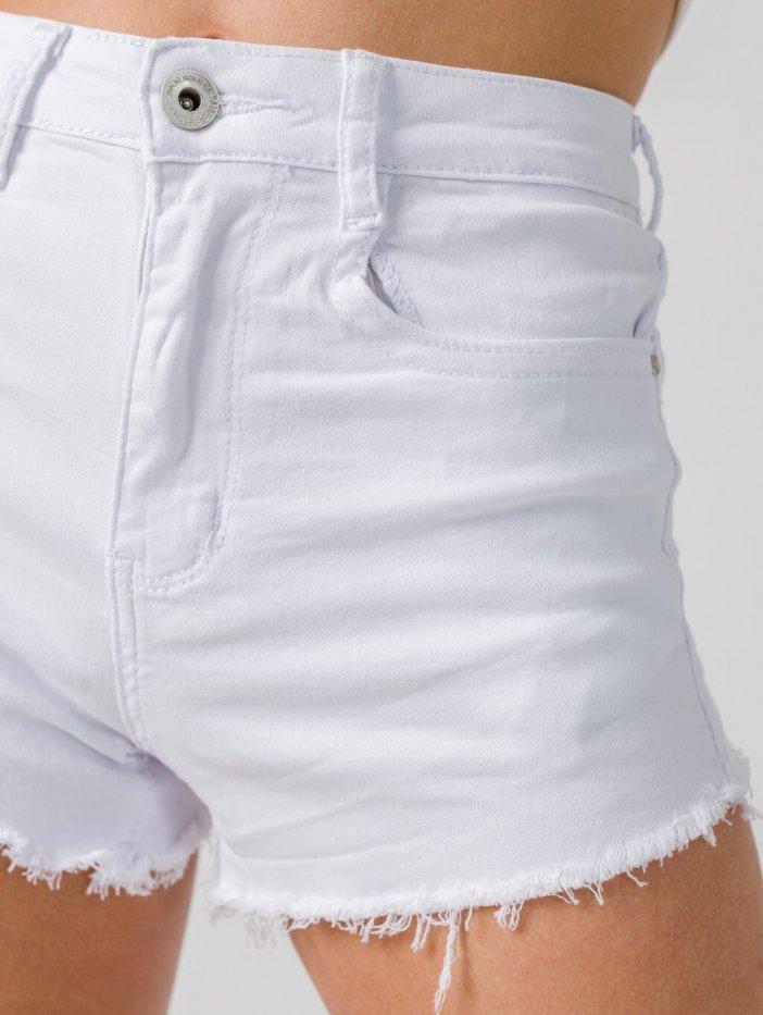 Biele šortky Uri