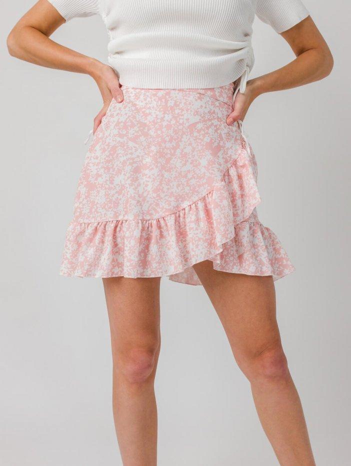 Ružová sukňa Flo