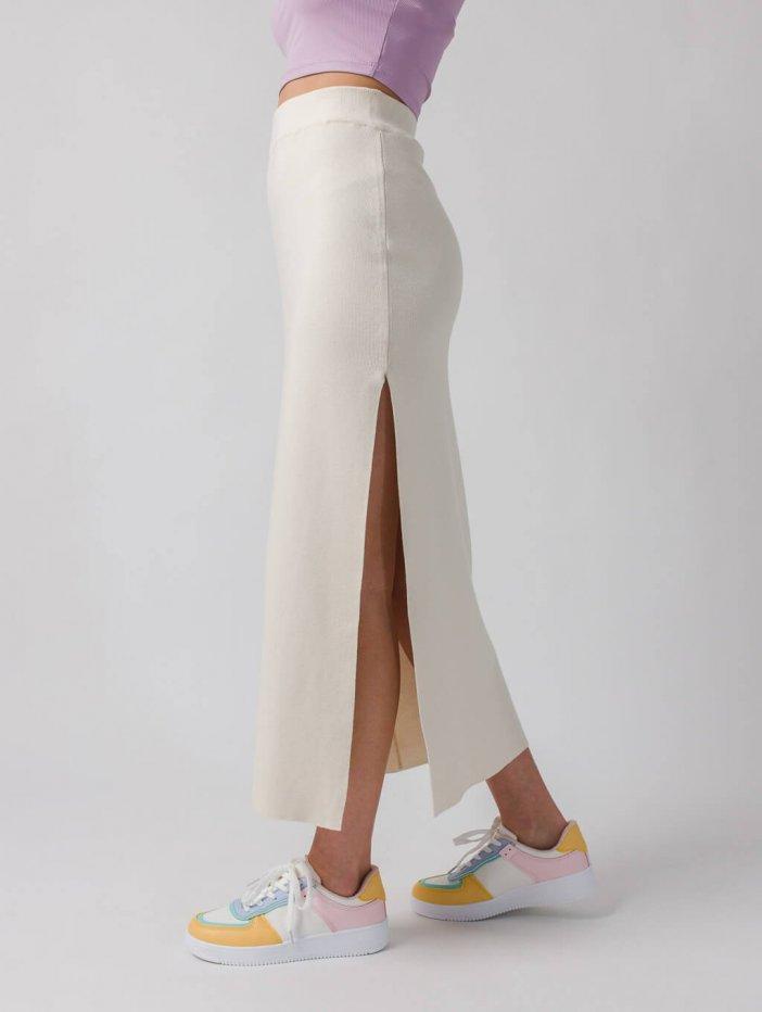 Smotanová sukňa Branda