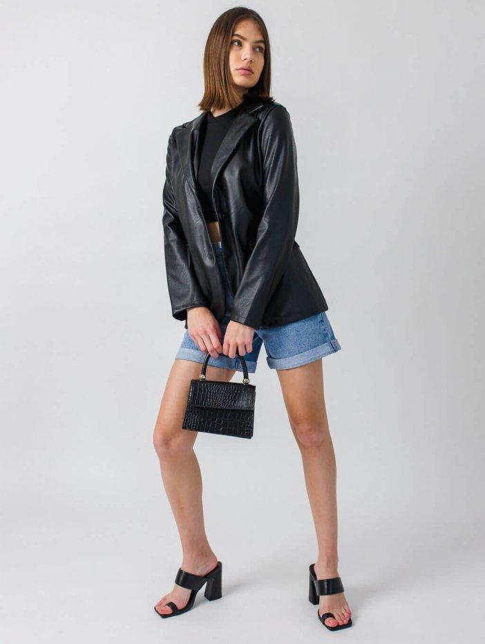 Čierne sako Rowie