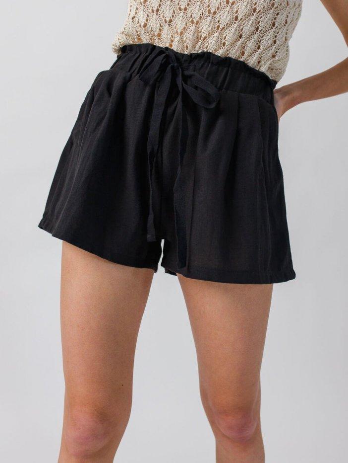 Čierne šortky Lunette
