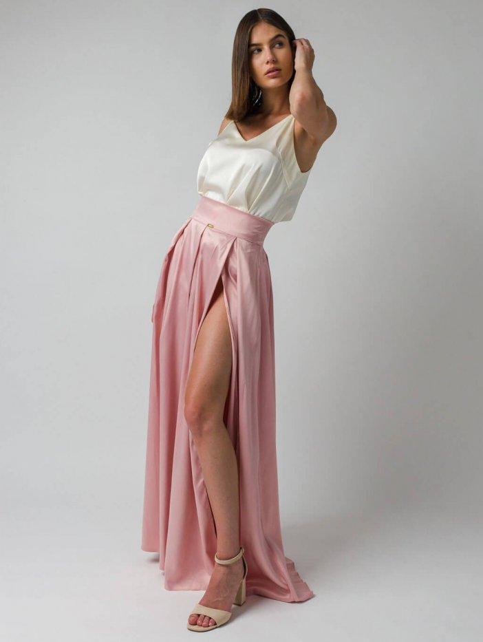 Ružová sukňa Roslin