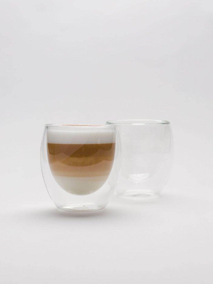 Sada pohárov s dvojitým dnom 250 ml