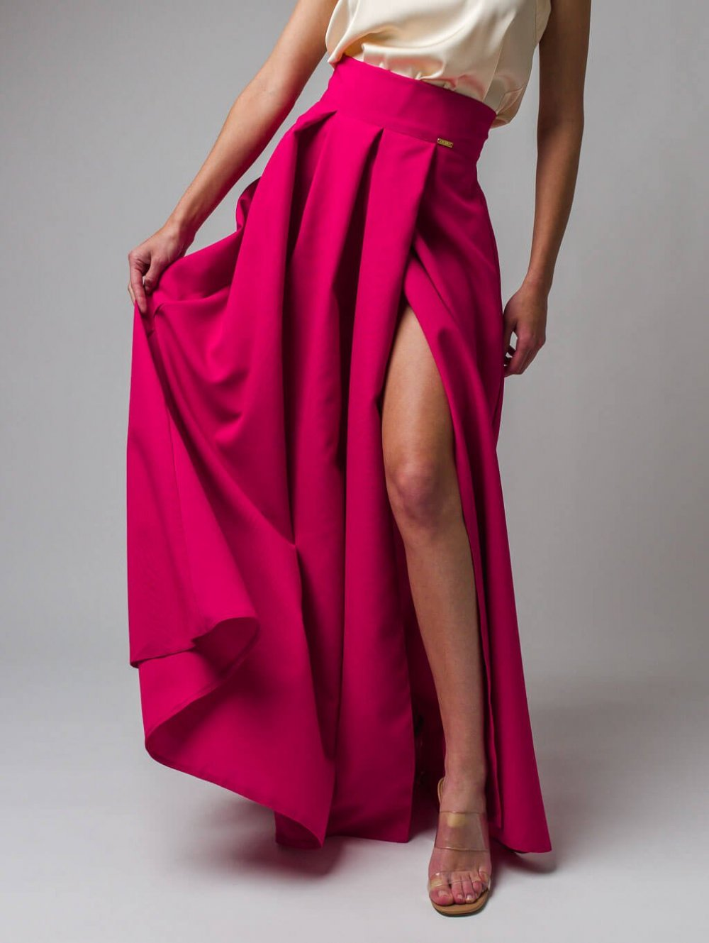 Tmavoružová sukňa Blair
