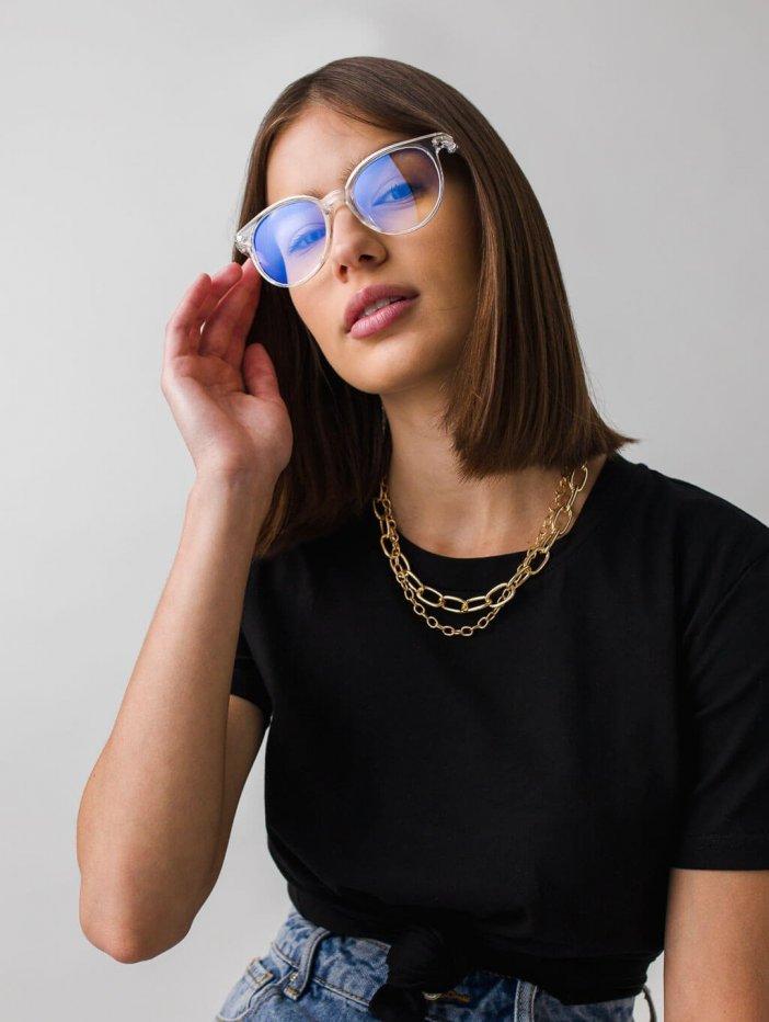 Transparentné okuliare Nayre