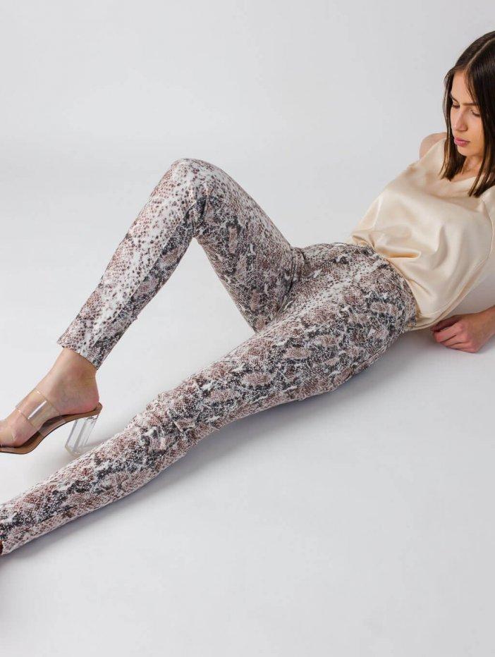 Vzorované nohavice Peth