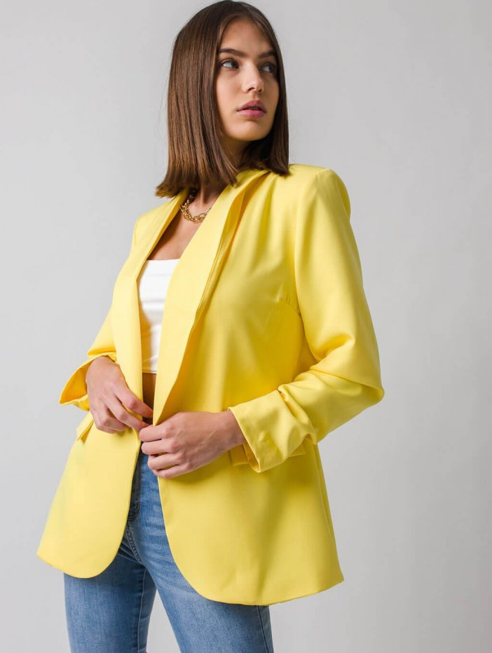 Žlté sako Idina