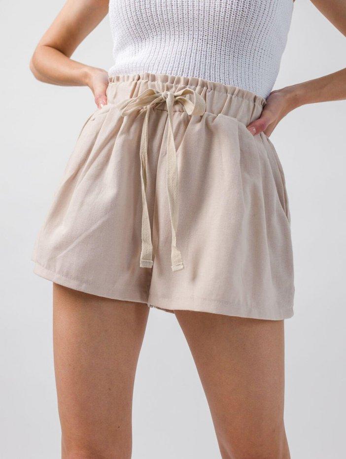 Béžové šortky Lunette